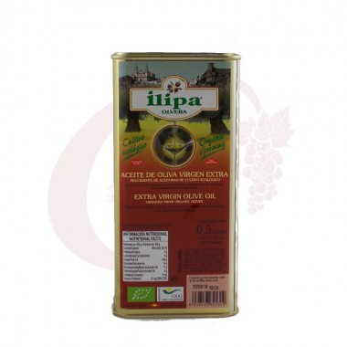 Aceite de oliva virgen extra Ilipa 0,5 litros