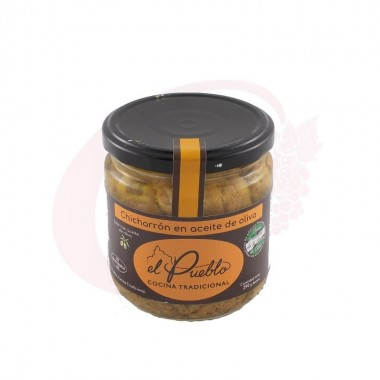 Chicharrón en aceite de oliva El Pueblo