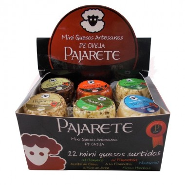 Queso de oveja mini Pajarete (caja surtida 12 uds.)