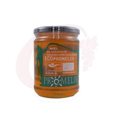 Miel de azahar ecológica Promelis 0,6 kg