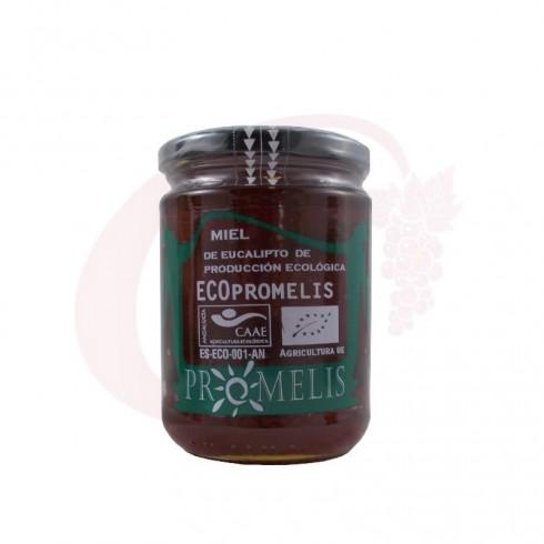 Miel de eucalipto ecológica Promelis 0,6 kg