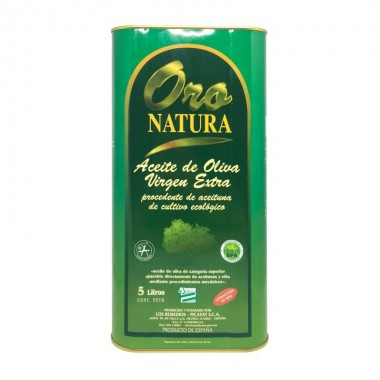 Aceite de oliva virgen extra Oro Natura 5 litros ecológico