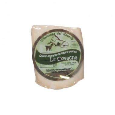 Queso de cabra curado en manteca ibérica La Covacha