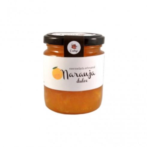 Mermelada ecológica de naranja dulce Conservas Contigo