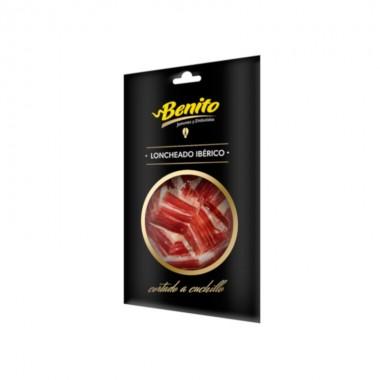 Paleta ibérica de bellota loncheado 100 g a cuchillo Benito