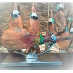 Paleta de cebo campo 50 ó 75 % raza ibérica El Culebrín
