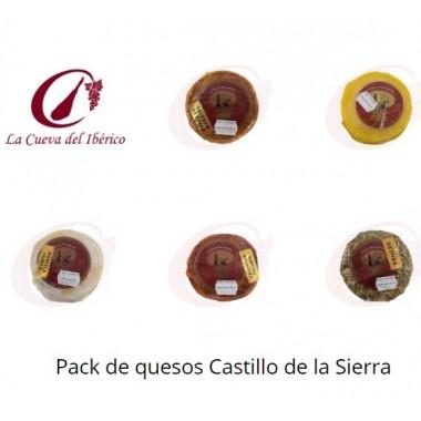 Pack de quesos mezcla Castillo de la Sierra