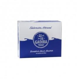 Tarantelo de atún rojo salvajde de almadraba en aceite Gadira