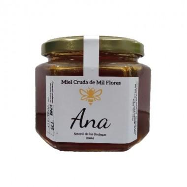 Miel cruda de milflores Ana