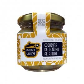 Coquinas de Doñana al ajillo La Cocina de Sanlúcar